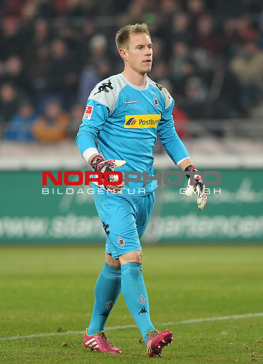 01.02.2014, HDI Arena, Hannover, GER, 1.FBL, Hannover 96 vs Borussia M&ouml;nchengladbach, im Bild Marc-Andr&eacute; ter Stegen (Moenchengladbach #1)<br /> <br /> Foto &copy; nordphoto / Frisch