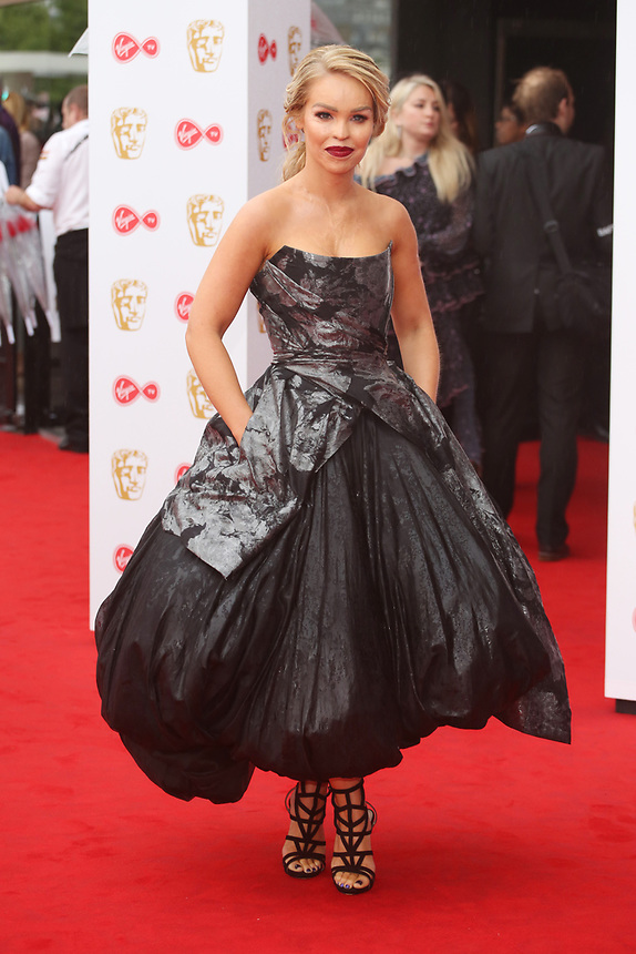 Katie Piper<br />  arriving at the Bafta Tv awards 2017. Royal Festival Hall,London  <br /> ©Ash Knotek