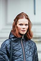 Irina Kulikova at London Fashion Week (Photo by Hunter Abrams/Guest of a Guest)