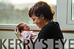 Aisling O'Sullivan and baby Clodagh O'Shea who was born in Kerry General Hospital on New Years Day