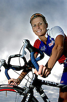 30 OCT 2003 - PAPHOS, CYPRUS - Michelle Dillon - British Triathlon Elite Training Camp. (PHOTO (C) NIGEL FARROW)