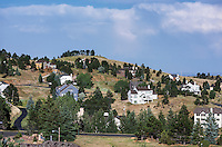 Housing development, Jefferson County, Colorado, USA