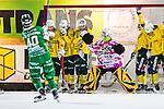 Stockholm 2013-12-03 Bandy Elitserien Hammarby IF - Ljusdals BK :  <br /> Hammarby Adam Gilljam g&ouml;r 6-1 p&aring; h&ouml;rna i den f&ouml;rsta halvleken<br /> (Foto: Kenta J&ouml;nsson) Nyckelord:
