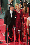 Antonio Banderas and Melanie Griffith arrive at Goya Cinema Awards 2012 ceremony, at the Palacio Municipal de Congresos on February 19, 2012 in Madrid..Photo: Cesar Cebolla / ALFAQUI