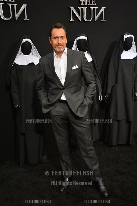 "LOS ANGELES, CA. September 04, 2018: Demian Bichir at the world premiere of ""The Nun"" at the TCL Chinese Theatre, Hollywood."