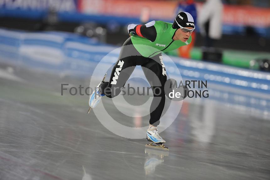 SCHAATSEN: AMSTERDAM: Olympisch Stadion, 01-03-2014, KPN NK Sprint/Allround, Coolste Baan van Nederland, Koen Verweij, ©foto Martin de Jong