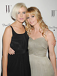 LOS ANGELES, CA - JANUARY 13: Agyness Deyn and Cameron Richardson arrive at the W Magazine's celebration of the 69th Annual Golden Globe Awards at the Chateau Marmont Hotel on January 13, 2012 in Los Angeles, California.