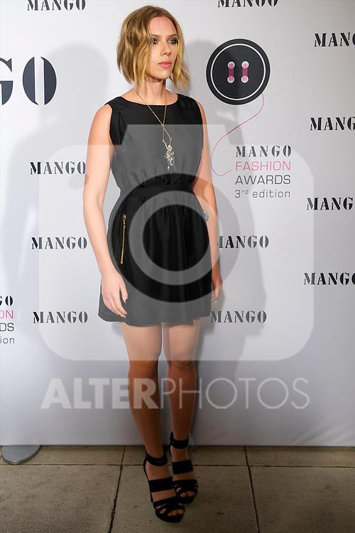 21.10.2010, Museum, Barcelona, ESP im Bild Scarlett Johansson attended  'Mango Fashion Awards' 3rd Edition at Catalua National Museum of Art in Barcelona.Photo: Billy Chappel / ALFAQUI