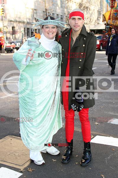 NEW YORK, NY - NOVEMBER 22: Tyler Glenn at the 86th Annual Macy's Thanksgiving Day Parade on November 22, 2012 in New York City. Credit: RW/MediaPunch Inc. /NortePhoto