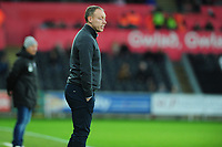 Steve Cooper Head Coach of Swansea City during the Sky Bet Championship match between Swansea City and Barnsley at the Liberty Stadium in Swansea, Wales, UK. Sunday 29 December 2019