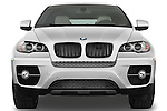 Straight front view of a 2008 BMW X6 Sports Activity Vehicle