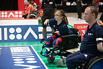 Team GB v Greece<br /> BISFed 2018 World Boccia Championships <br /> Exhibition Centre Liverpool<br /> 17.08.18<br /> &copy;Steve Pope<br /> Sportingwales