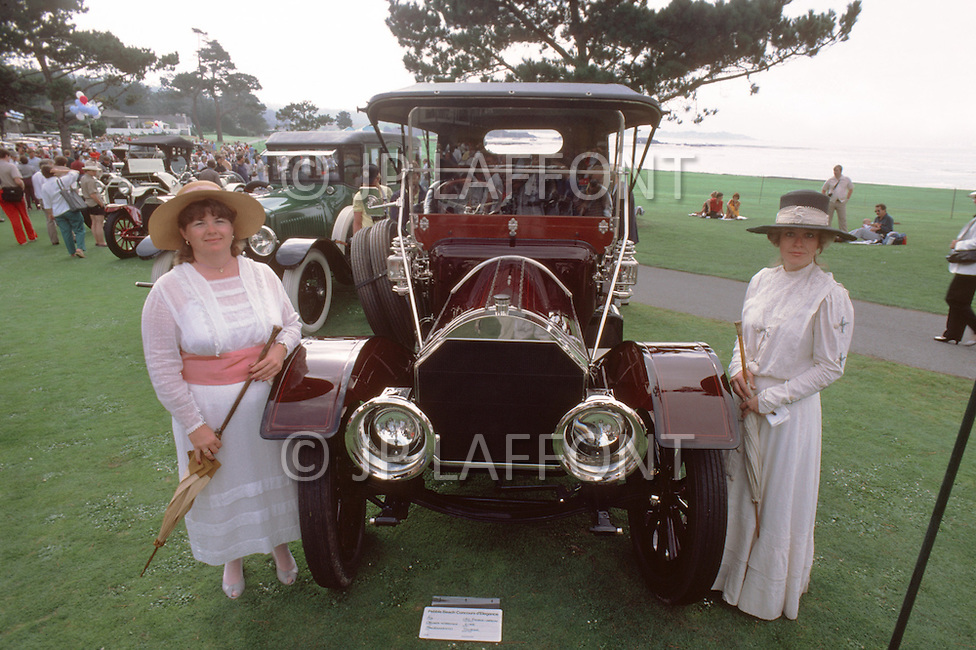 August 26th, 1984. 1911 Pierce-Arrow 6-48 Tourer.