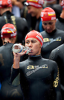 12 JUL 2009 - KITZBUHEL, AUT - Andrea Hewitt - ITU World Championship Series Womens Triathlon.(PHOTO (C) NIGEL FARROW)