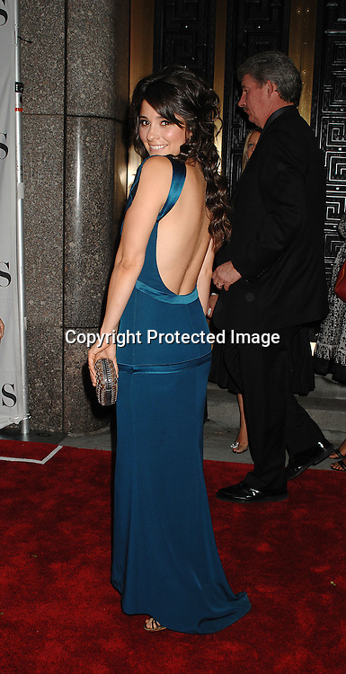 Shiri Appleby of Six Degrees..arriving at The 2007 Tony Awards on June 10, 2007 at ..Radio City Music Hall. ..Robin Platzer, Twin Images......212-935-0770