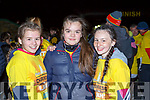 Alison Moynihan, Ava Dwyer and Nicole Williamson at Nathans Walk Darkness into Light walk on Saturday morning