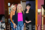 Noelle O Sullivan, Shelley O'Brien and Caitriona Costello enjoying a girls night out at Ristorante Uno on Friday