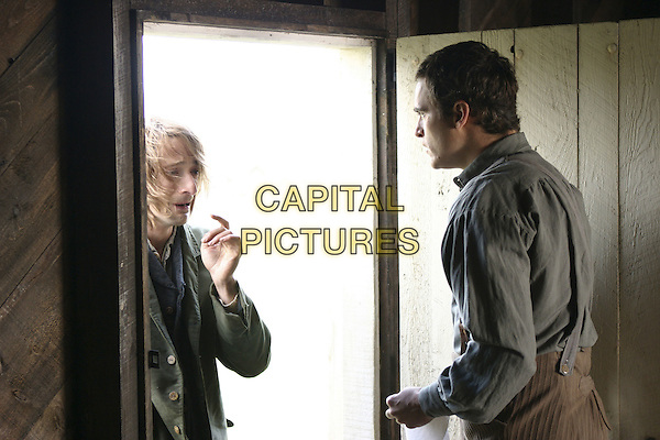 ADRIEN BRODY & JOAQUIN PHEONIX .in The Village.Filmstill - Editorial Use Only.CAP/AWFF.supplied by Capital Pictures.