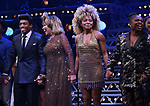 """Daniel J. Watts, Tina Turner, Adrienne Warren and Katori Hall during the """"Tina - The Tina Turner Musical"""" Opening Night Curtain Call at the Lunt-Fontanne Theatre on November 07, 2019 in New York City."""
