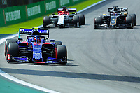 17th November 2019; Autodromo Jose Carlos Pace, Sao Paulo, Brazil; Formula One Brazil Grand Prix, Race Day; Pierre Gasly (FRA) Red Bull Racing RB15 - Editorial Use