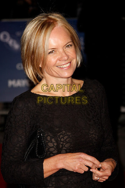 Mariella Frostrup.'The Descendants' London Film Festival gala screening, Odeon Leicester Square, London, England..20th October 2011.half length black dress.CAP/AH.©Adam Houghton/Capital Pictures.
