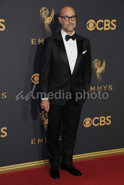 17 September  2017 - Los Angeles, California - Stanley Tucci. 69th Annual Primetime Emmy Awards - Arrivals held at Microsoft Theater in Los Angeles. Photo Credit: Birdie Thompson/AdMedia