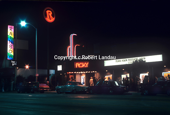 Rainbow bar and grill and Roxy nightclub, 1970s