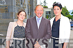 Colaiste na Sceilige representatives l-r: Mary McMahon, John O'Connor and Trish Carroll at the Ordination of the Bishop of Kerry in St Mary's Cathedral on Sunda