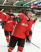 NAME - The Suisse defeated Slovakia 2-1 in a 2007 World Juniors match on January 2, 2007, at FM Mattson Arena in Mora, Sweden.