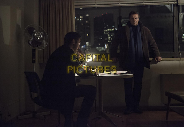 Dan Stevens, Liam Neeson<br /> in A Walk Among the Tombstones (2014) <br /> *Filmstill - Editorial Use Only*<br /> CAP/NFS<br /> Image supplied by Capital Pictures