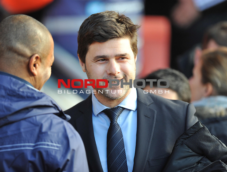 Southampton Manager, Mauricio Pochettino -  22/12/2013 - SPORT - FOOTBALL - St Mary's Stadium - Southampton - Southampton v Tottenham Hotspur - Barclays Premier League<br /> Foto nph / Meredith<br /> <br /> ***** OUT OF UK *****