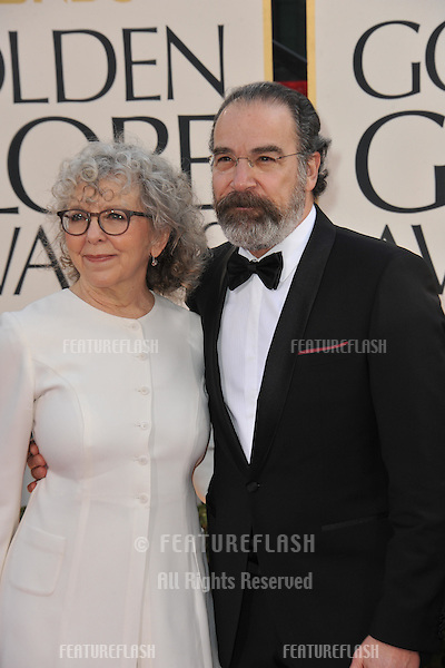 Mandy Patinkin at the 70th Golden Globe Awards at the Beverly Hilton Hotel..January 13, 2013  Beverly Hills, CA.Picture: Paul Smith / Featureflash