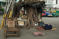 A poor Mans Home from the car window Manila, Philippines