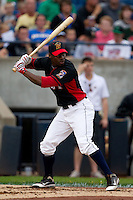 Travis Witherspoon (2) of the Cedar Rapids Kernels at bat during the Midwest League All-Star Home Run Derby at Modern Woodmen Park on June 20, 2011 in Davenport, Iowa. (David Welker / Four Seam Images)