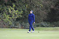 Matt Fitzpatrick (ENG) on the 3rd green during Round 2 of the Sky Sports British Masters at Walton Heath Golf Club in Tadworth, Surrey, England on Friday 12th Oct 2018.<br /> Picture:  Thos Caffrey | Golffile<br /> <br /> All photo usage must carry mandatory copyright credit (&copy; Golffile | Thos Caffrey)