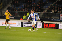 VOETBAL: HEERENVEEN: Abe Lenstra Stadion 04-04-2015, SC Heerenveen - NAC, uitslag 0-0, Marten de Roon (#15), ©foto Martin de Jong