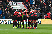Bournemouth pre kick off brief<br /> <br /> Photographer David Horton/CameraSport<br /> <br /> The Premier League - Bournemouth v Newcastle United - Saturday 16th March 2019 - Vitality Stadium - Bournemouth<br /> <br /> World Copyright © 2019 CameraSport. All rights reserved. 43 Linden Ave. Countesthorpe. Leicester. England. LE8 5PG - Tel: +44 (0) 116 277 4147 - admin@camerasport.com - www.camerasport.com
