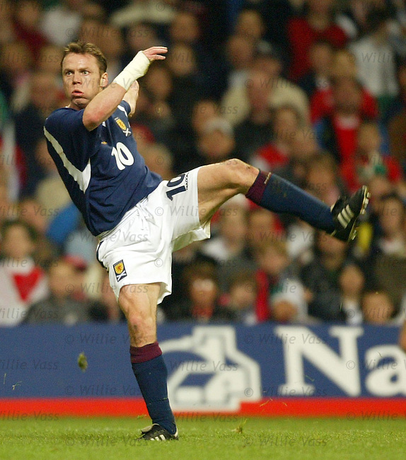 Paul Dickov, Scotland.Stock Season 2003-2004.pic willie vass
