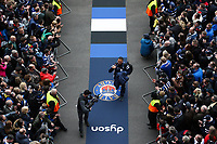 Bristol Bears Head Coach Pat Lam arrives at Twickenham Stadium. Gallagher Premiership match, The Clash, between Bath Rugby and Bristol Rugby on April 6, 2019 at Twickenham Stadium in London, England. Photo by: Andrew Fosker for Onside Images