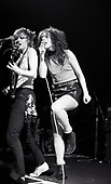 The Slits - guitarist Viv Albertine and vocalist Ari Up - performing live at The Lyceum Theatre  in London UK - 10 Mar 1978.  Photo credit: George Bodnar Archive/IconicPix