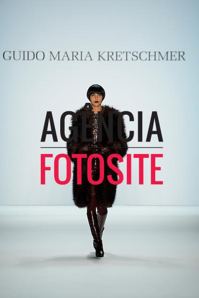 Berlim, Alemanha &ndash; 01/2014 - Desfile de Kretschmer durante a Semana de moda de Berlim - Inverno 2014. <br /> Foto: FOTOSITE