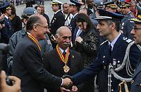 SAO PAULO, SP, 09.07.2013 - DESFILE 9 DE JULHO - Governador Gerado Alckmin durante desfile em comemoração à Revolução Constitucionalista de 1932, neste 9 de Julho, em São Paulo. (Foto: Vanessa Carvalho / Brazil Proto Press).