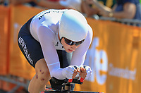 Hamish Bond of New Zealand, Mens time trial. Commonwealth Games, Gold Coast, Australia. Tuesday 10 April, 2018. Copyright photo: John Cowpland / www.photosport.nz /SWpix.com /SWpix.com