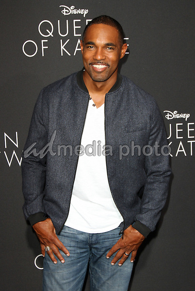 "20 September 2016 - Hollywood, California - Jason George. ""Queen Of Katwe"" Los Angeles Premiere held at the El Capitan Theater in Hollywood. Photo Credit: AdMedia"