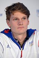 Yannick Agnel (fra) .London 04/08/2012 .London 2012 Olympic games  - French House - Olimpiadi Londra 2012 - Casa Francia - I medagliati.Foto JB Autissier / Panoramic / Insidefoto.ITALY ONLY..