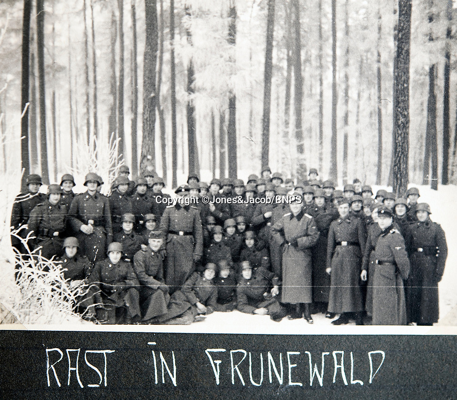 BNPS.co.uk (01202 558833)<br /> Pic: Jones&Jacob/BNPS<br /> <br /> 'Rest in the Green Wood' - The LSSAH in the Grunewald west of Berlin in winter.<br /> <br /> Springtime for Hitler...Chilling album of pictures taken by one of Hitlers bodyguards illustrates the Nazi dictators rise to power.<br /> <br /> An unseen album of photographs taken by a member of Hitlers own elite SS bodyguard division in the years leading up to the start of WW2.<br /> <br /> The 1st SS Panzer Division 'Leibstandarte SS Adolf Hitler' or LSSAH began as Adolf Hitler's personal bodyguard in the 1920's responsible for guarding the Führer's 'person, offices, and residences'.