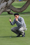 Andy Garcia on green at Monterey Peninsula Country Club