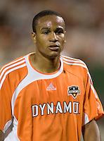 Houston midfielder Ricardo Clark. D.C. United defeated the Houston Dynamo 2-0 at RFK Stadium in Washington, D.C. on April 15, 2006
