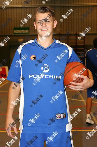 2008-08-23 / Basketbal / Seizoen 2008-2009 / Jako Pitzemburg / Bart Van Breedam..Foto: Maarten Straetemans (SMB)
