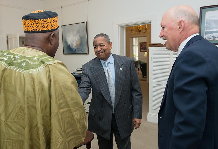Dr. Togba-Nah Tipoteh Dr. Les LeFevre Alumni Portrait Reunion Class of 1963 Liberia